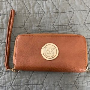 Wallet with Wrist Strap